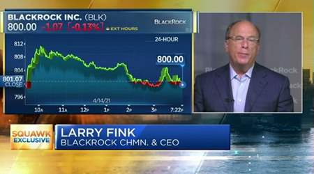 BlackRock, 1° trimestre record. Parla il Ceo